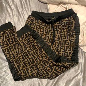 Fendi Track jogging pants